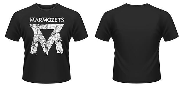 T-Shirt Marmozets. Smashed