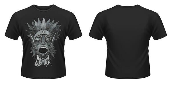 T-Shirt Gojira. Scream Head