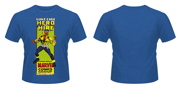 T-Shirt Marvel Comics. Luke Cage Comic Group