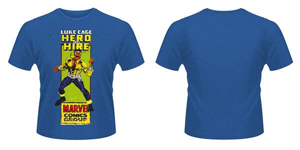 T-Shirt Marvel Comics. Luke Cage Comic Group