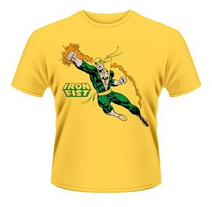 T-Shirt Marvel Comics. Iron Fist Punch