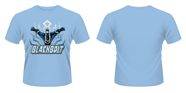 T-Shirt Marvel Comics. Inhumans Blackbolt