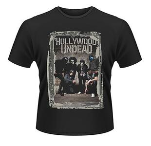 T-Shirt Hollywood Undead. Cement Photo
