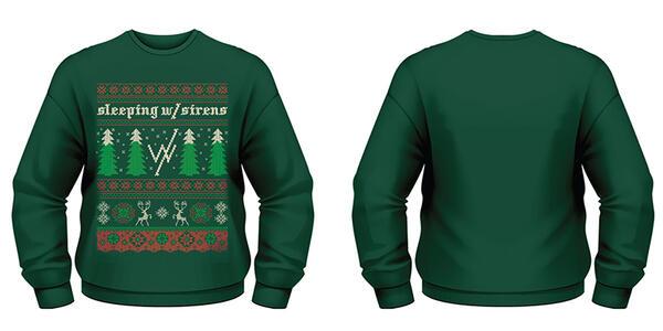 Felpa Sleeping with Sirens. Christmas Trees