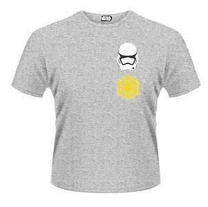 T-Shirt Star Wars. The Force Awakens. Logo Stormtrooper Pattern Rear