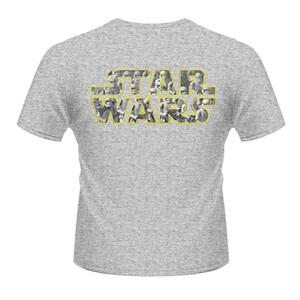 T-Shirt Star Wars. The Force Awakens. Logo Stormtrooper Pattern Rear - 2