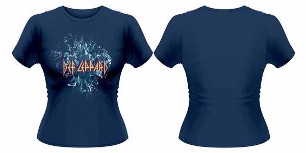 T-Shirt donna Def Leppard