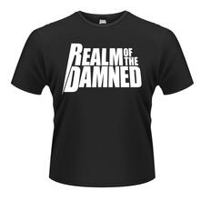 T-Shirt unisex Realm of the Damned. White Logo