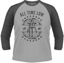Maglia Manica 3/4 All Time Low. Emblem