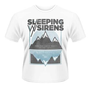 T-Shirt unisex Sleeping with Sirens. Dark Mountains