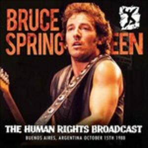 The Human Rights Broadcast Argentina - Vinile LP di Bruce Springsteen