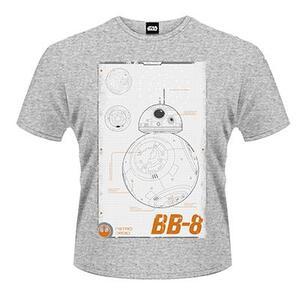 T-Shirt unisex Star Wars The Force Awakens. BB-8 Manual - 2