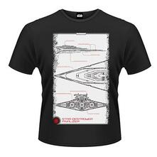 T-Shirt unisex Star Wars The Force Awakens. Star Destroyer Manual