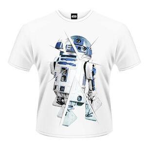 T-Shirt unisex Star Wars The Force Awakens. R2-D2 Chopped