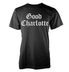 T-Shirt unisex Good Charlotte. White Puff Logo