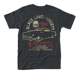 T-Shirt unisex Black Label Society. Hell Riding Hot Rod