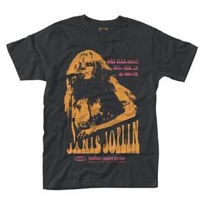 T-Shirt unisex Janis Joplin. Madison Poster