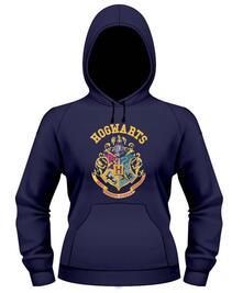 Felpa bambina con Cappuccio Harry Potter. Stemma