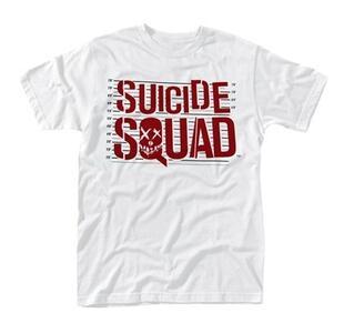 T-Shirt Unisex Suicide Squad. Logo Line Up - 2