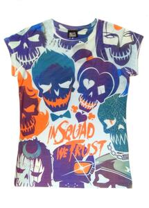 T-Shirt Unisex Suicide Squad. All Over Trust