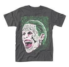 T-Shirt Unisex Suicide Squad. Joker Tattooed Face