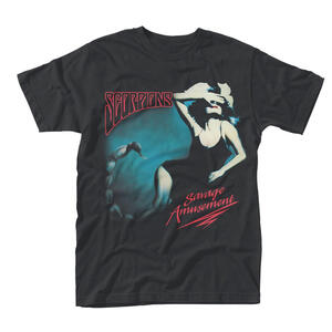 T-Shirt Unisex Scorpions. Savage Amusement