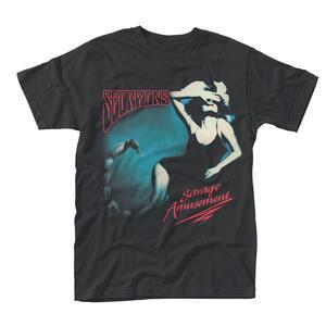 T-Shirt Unisex Scorpions. Savage Amusement