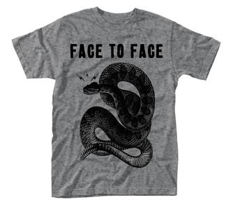 T-Shirt Unisex Face To Face. Snake