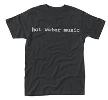 T-Shirt Unisex Hot Water Music. Traditional