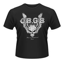 T-Shirt Unisex Cbgb. Skull Wings