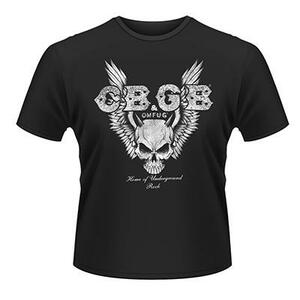 T-Shirt Unisex Cbgb. Skull Wings