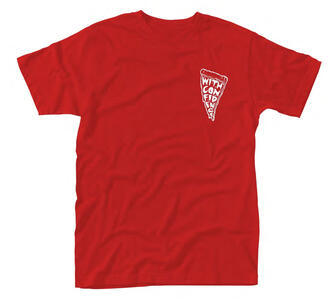 T-Shirt Unisex With Confidence. Pizza Punx