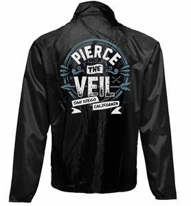 Giacca A Vento Unisex Pierce The Veil. San Diego - 2