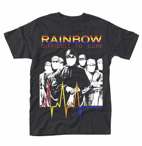 T-Shirt Unisex Rainbow. Difficult To Cure