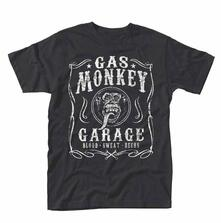 T-Shirt Unisex Gas Monkey Garage. Flourish