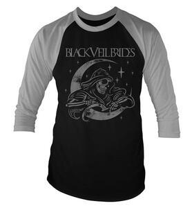 T-Shirt Maglia Manica 3/4 Black Veil Brides. Moon Reaper