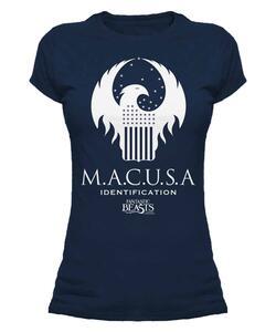 T-Shirt Donna Fantastic Beasts. Macusa