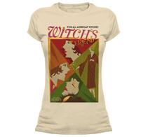 T-Shirt Donna Tg. L Fantastic Beasts. All American Witches