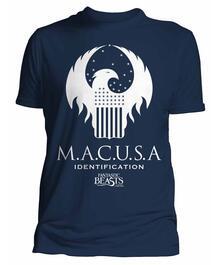 T-Shirt Unisex Fantastic Beasts. Macusa