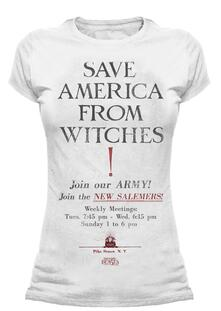 T-Shirt Donna Tg. 2XL Fantastic Beasts. Save America
