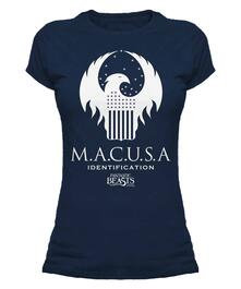 T-Shirt Donna Fantastic Beasts. Macusa