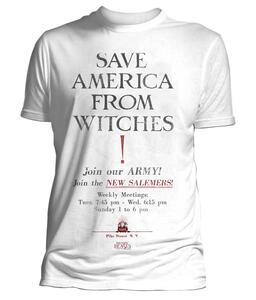 T-Shirt Unisex Tg. L Fantastic Beasts. Save America