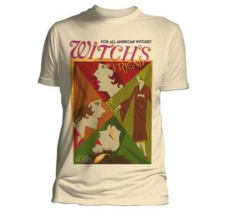 T-Shirt Unisex Tg. L Fantastic Beasts. All American Witches