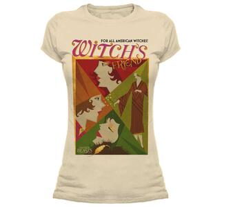 T-Shirt Donna Tg. S Fantastic Beasts. All American Witches