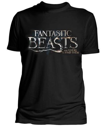 T-Shirt Unisex Fantastic Beasts. Logo