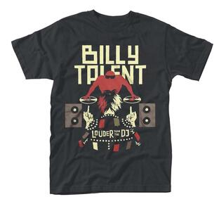 T-Shirt Unisex Billy Talent. Louder Than The Dj