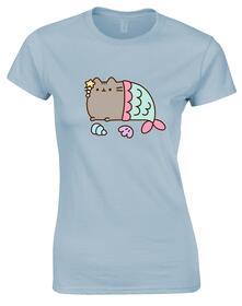 T-Shirt Donna Tg. L Pusheen. Mercat