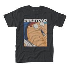 T-Shirt Unisex Tg. S Family Guy. Hashtag Best Dad