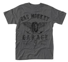 T-Shirt Unisex Gas Monkey Garage. Tyres Parts Service
