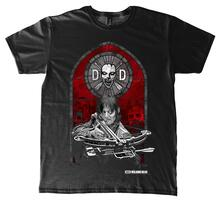 T-Shirt Unisex Walking Dead. Stained Glass